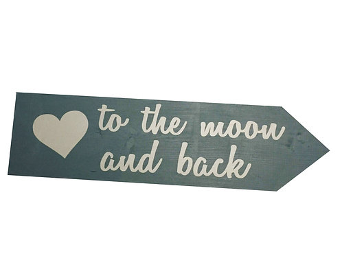 Wegwijzer: To the moon and back
