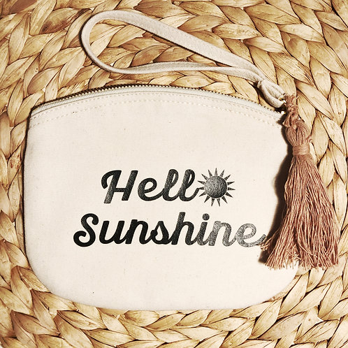 Make-up tasje: Hello Sunshine