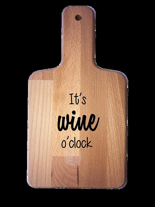Kaasplankje: It's wine o'clock
