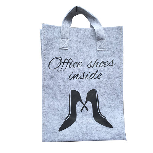 Tas Small: Office shoes inside