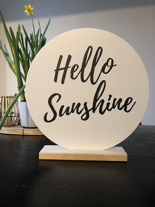 Wooncirkel 'Hello Sunshine'