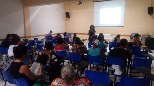 Palestra - O Poder Feminino - Projeto Transformando Vidas