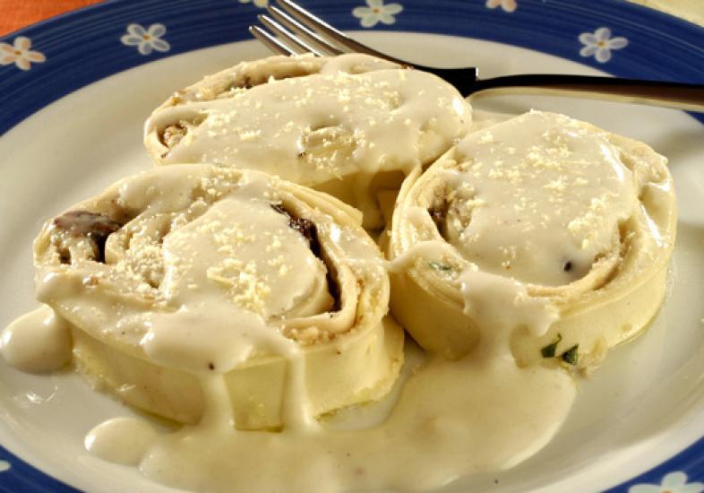 Rondelli de quatro queijos