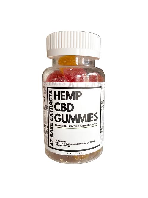 1,000mg Full Spectrum Gummies