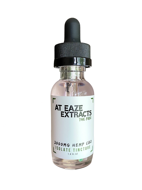 2,000mg Isolate Tincture