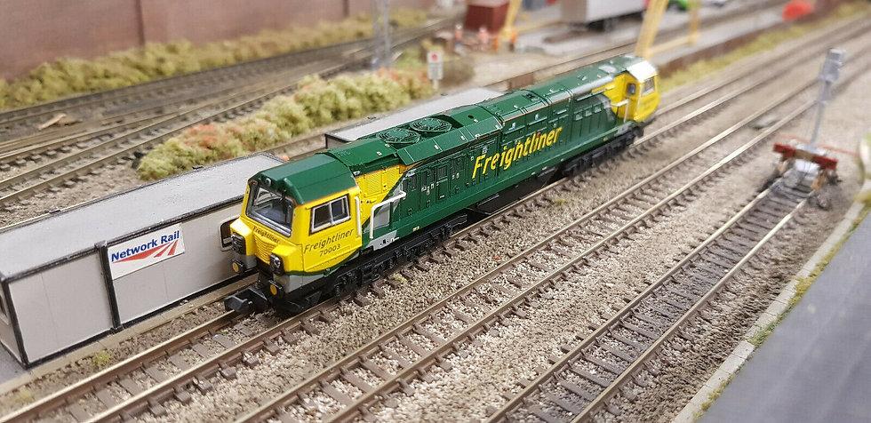 Farish 371-636 Class 70 Diesel 70003 Freightliner