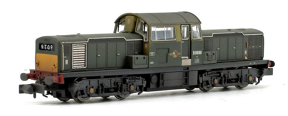 E84509 EFE Rail N Gauge Class 17 Locomotive with DCC Sound