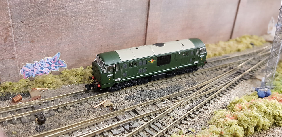 Dapol 2D-012-010 CLASS 22 DISC HEADCODE BR GREEN NO WARNING PANEL