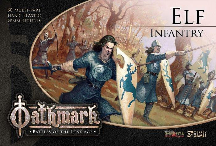 Warlords of Erehwon Elf Infatry