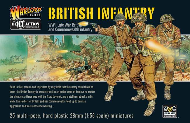 British Infantry WW2