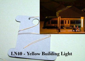 Micro Yellow LED Building Light