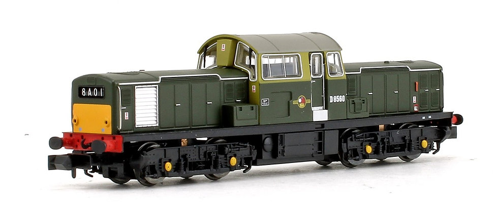 E84503 EFE Rail N Gauge Class 17 Locomotive with DCC Sound