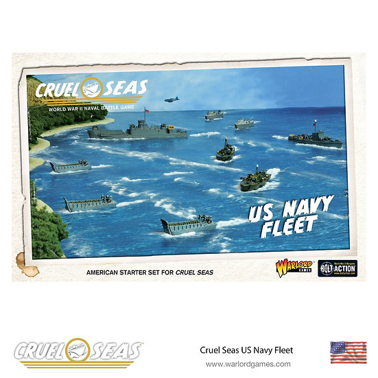 US Navy Fleet Cruel Seas
