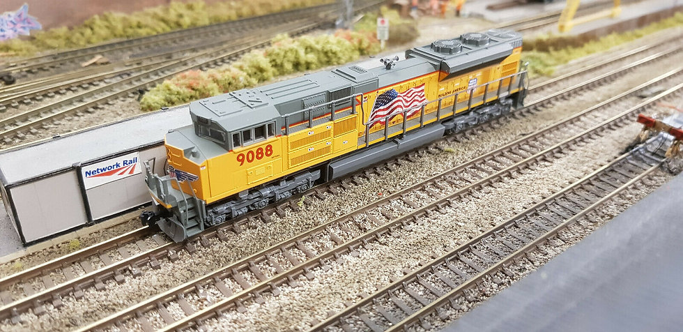 Kato 176-8522 N Locomotive EMD SD70ACe Nose Headlight Union Pacific 9088