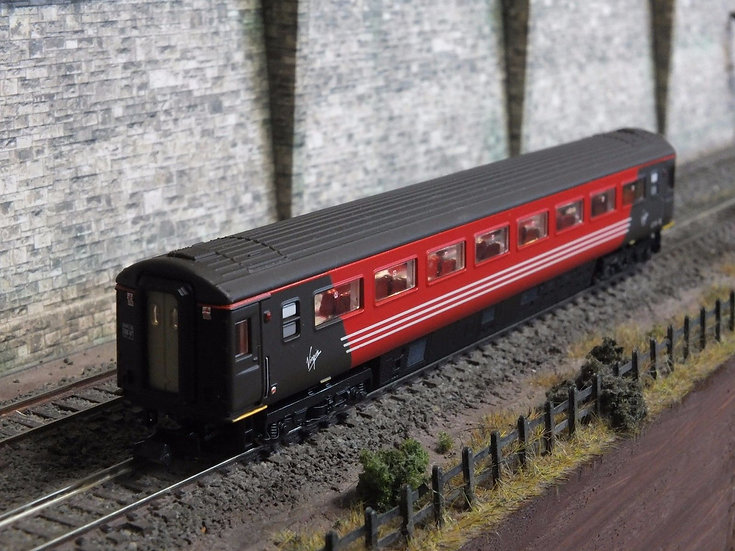 Dapol 2P-005-438 Mk3 TSO second open 42116 in Virgin Trains livery