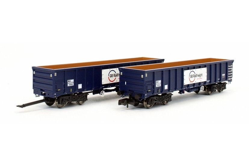 Dapol 2F-025-005 MJA GBRF Bogie Box Van Twin 502023 502024