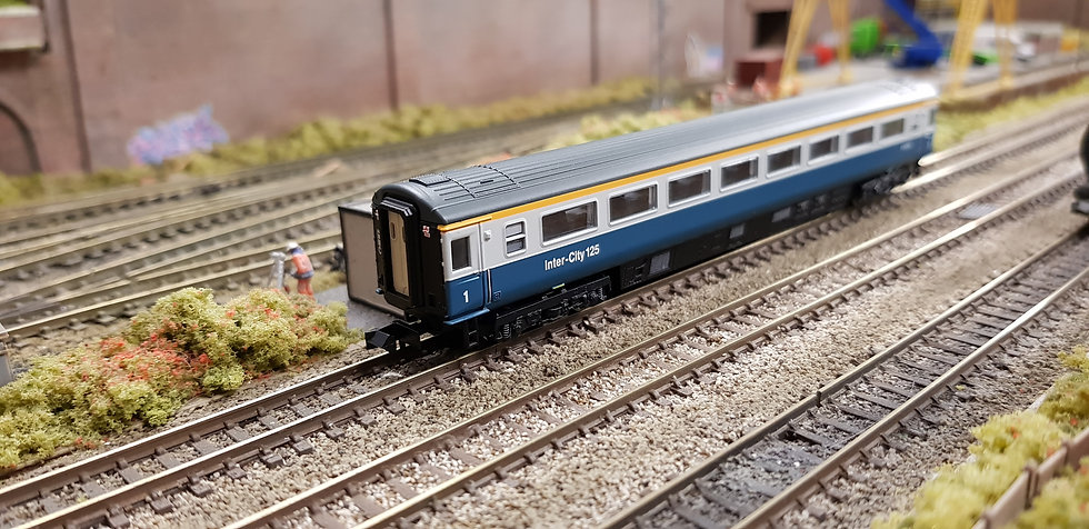 Dapol 2P-005-025 Mk3 TFO first open E41070 in BR blue and grey