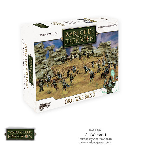Warlords of Erehwon Orc Warband