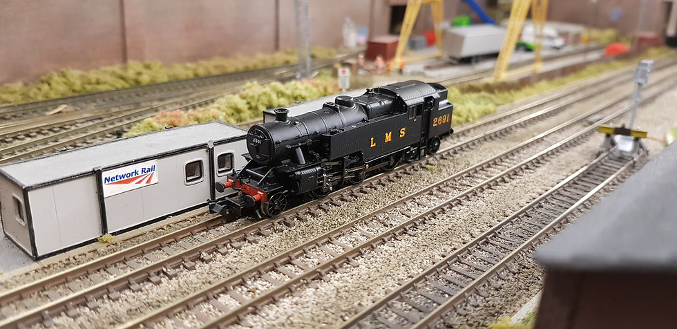 Farish 372-750 Fairburn 2-6-4 Tank 2691 LMS Black