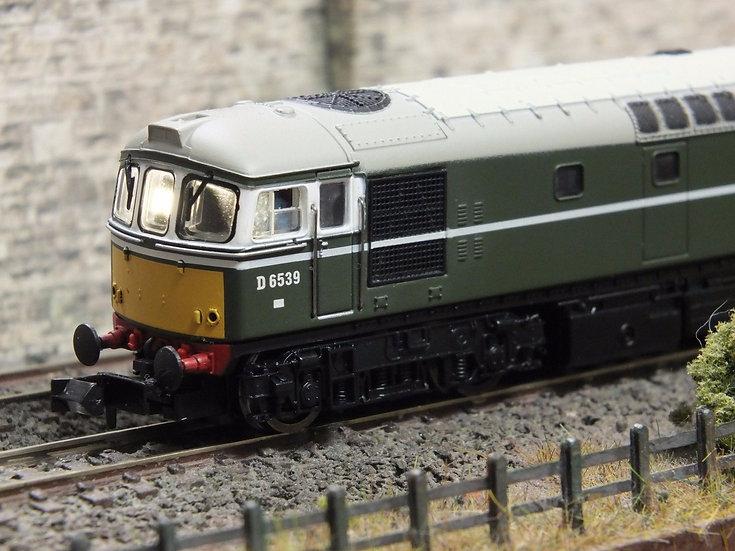 Dapol 2D-001-003 Class 33 BR Green