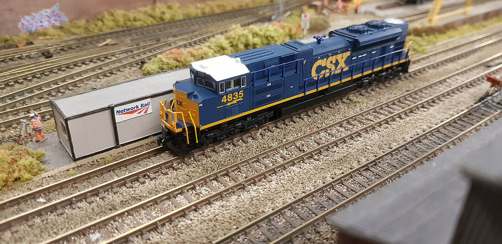 Kato 176-8436 N Scale EMD SD70ACe CSX #4835