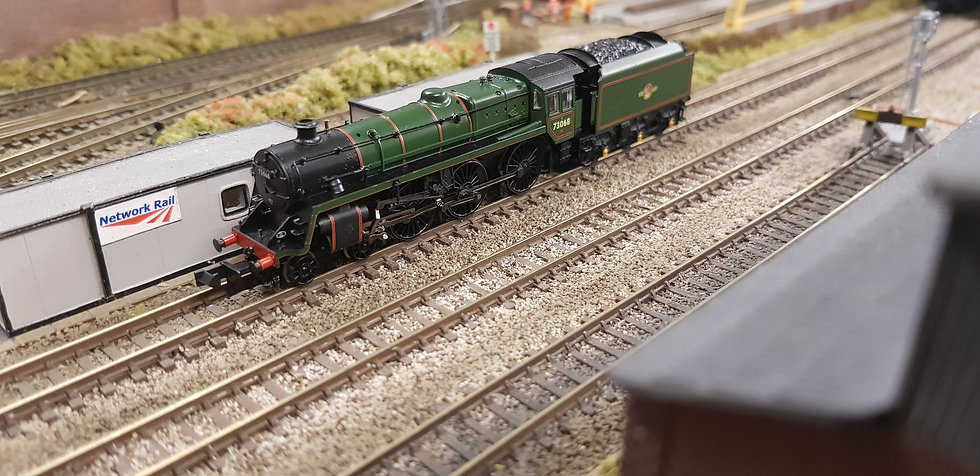 Farish 372-725 BR Standard Class 5MT 73068 BR Green Late Crest