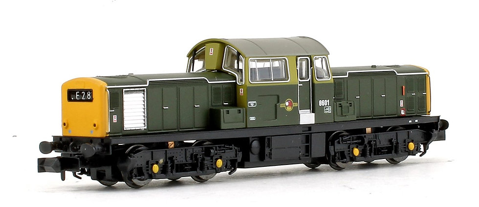 E84504 EFE Rail N Gauge Class 17 Locomotive with DCC Sound