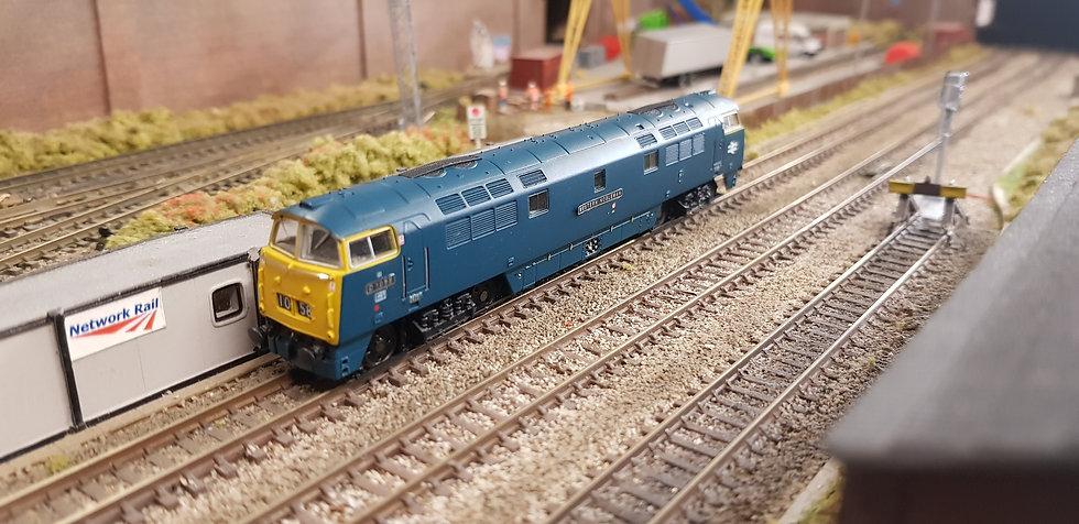 Dapol 2D-003-004 Class 52 BR Blue D1058 Western Nobleman