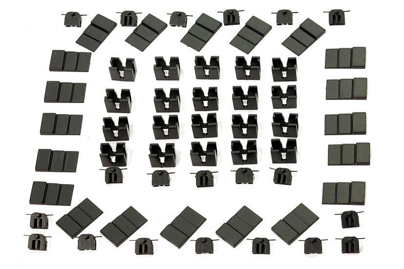 Dapol 2A-000-014 20 X Magnetic Couplings Conversion For NON NEM Pockets