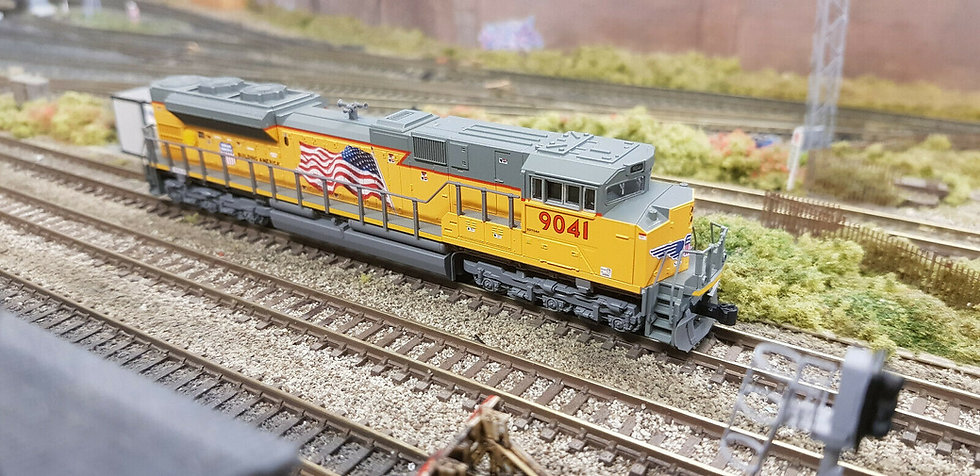 Kato 176-8520 N Scale Locomotive EMD SD70ACe UP /Union Pacific #9041