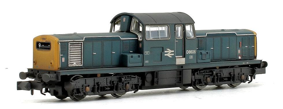 E84510 EFE Rail N Gauge Class 17 Locomotive with DCC Sound