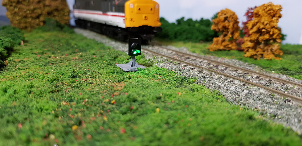 OO Gauge 2 Aspect (Red over Green) Ground Signal