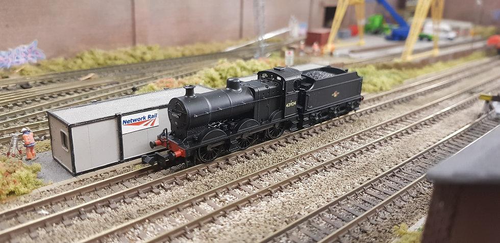 Farish 372-060 43924 Midland Class 4F BR Black Late Crest