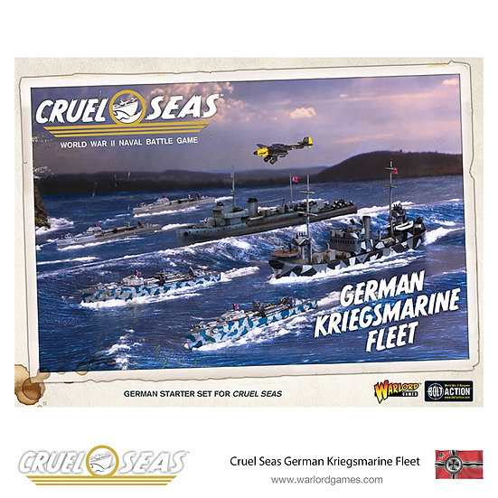 German Kriegsmarine Fleet Cruel Seas