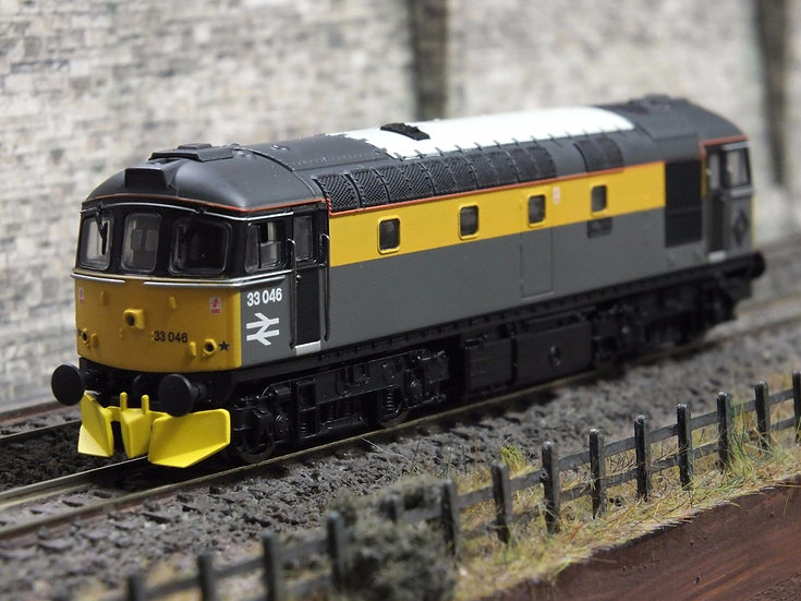 Dapol 2D-001-002 Class 33 Engineers Yellow/Grey