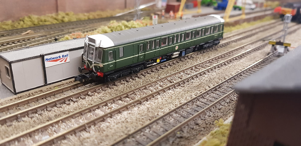 Dapol 2D-009-003 Class 121W55033 BR Green Speed Whiskers