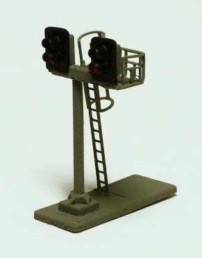 N Gauge 2Hx2H Twin Junction Signal Kit