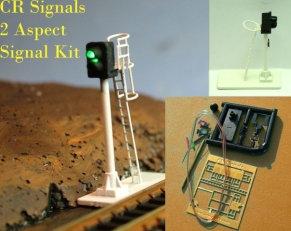 N Gauge 2 Aspect Signal Kit