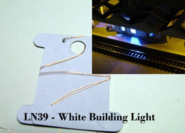 Micro White LED Building Light