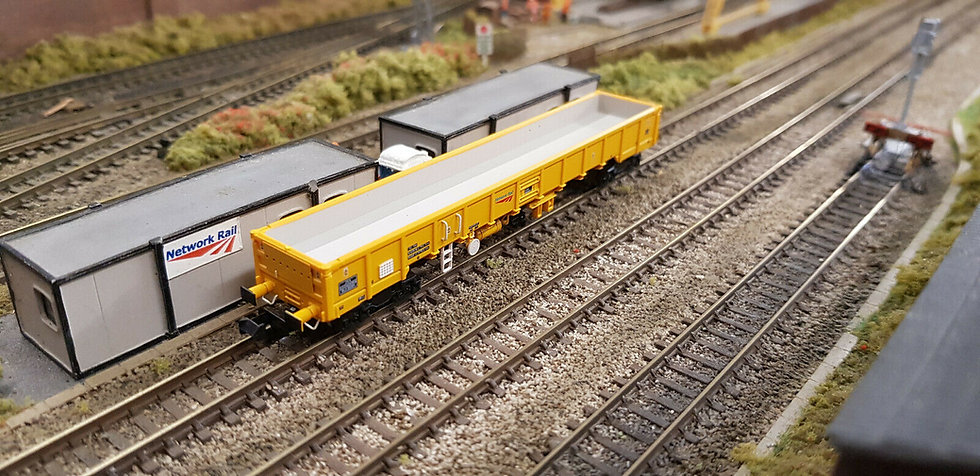 Dapol 2F-010-007 N Gauge JNA Falcon Network Rail Wagon NLU29076