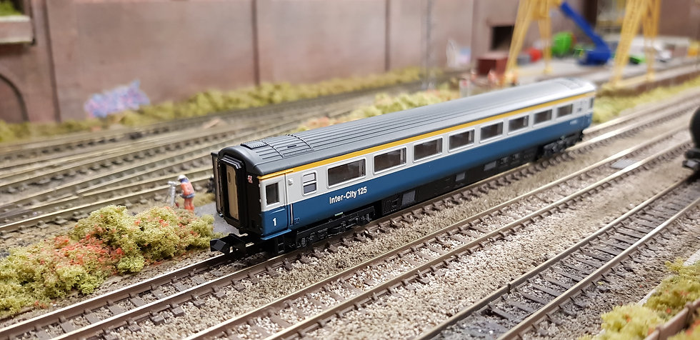 Dapol 2P-005-024 Mk3 TFO first open E41069 in BR blue and grey