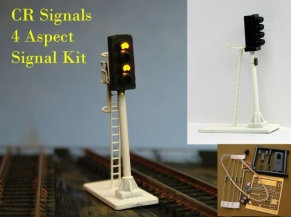 N Gauge 4 Aspect Signal Kit