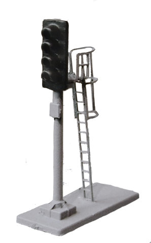 N Gauge 4 Aspect Dummy Signal Kit (Non Working)