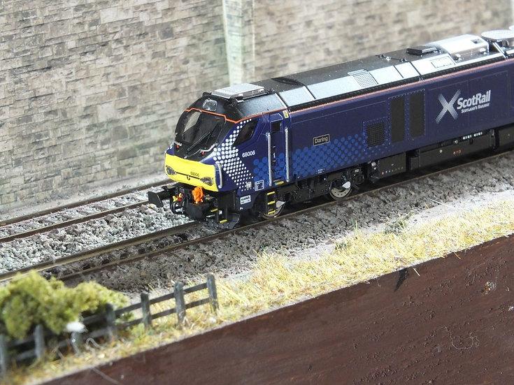 "Dapol 2D-022-005 Class 68 68006 ""Daring"" in Scotrail livery"