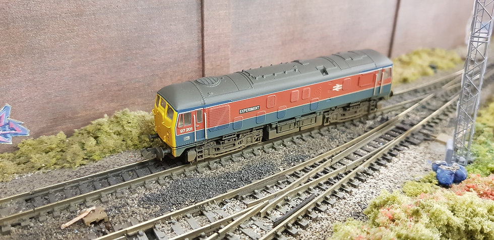 372-980 Class 24 Diesel 97201 'Experiment' RTC (Weathered)