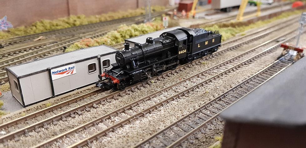 Farish 372-627 Ivatt Class 2MT 2-6-0 6404 LMS Black