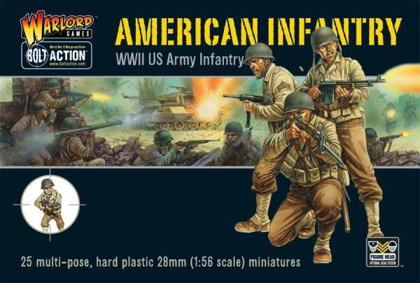 US Infantry - WW2 American GIs
