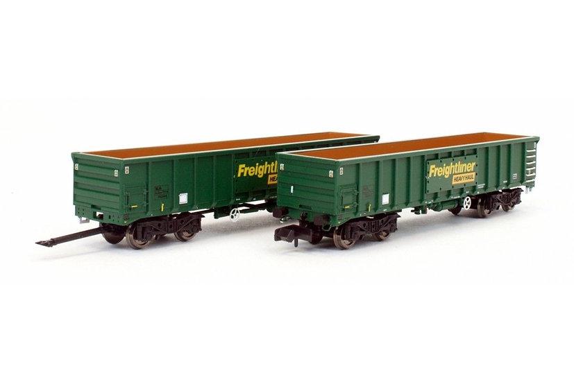 Dapol 2F-025-004 MJA Freightliner Heavy Haul Box Van 502045 502046