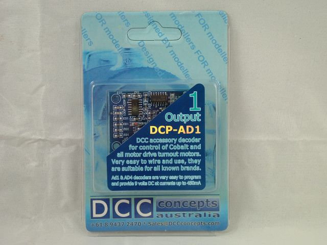 DCC Concepts DCP-AD1 Accessory Decoder
