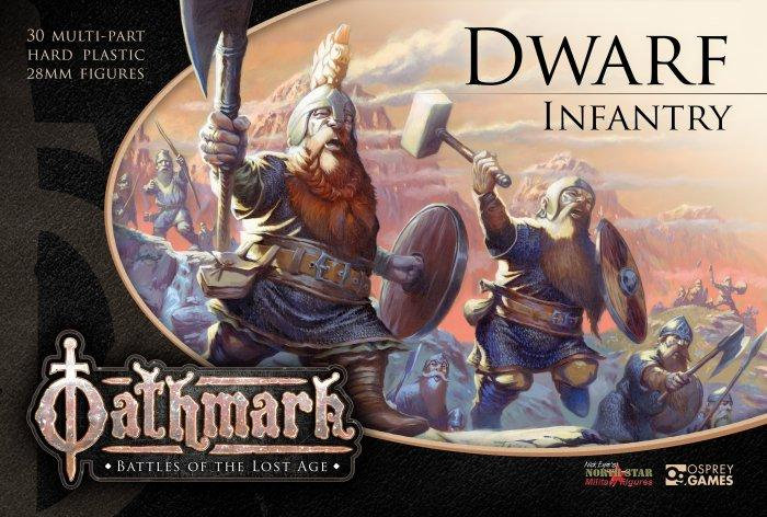Warlords of Erehwon Dwarf Infantry